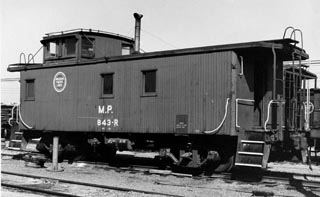 MP &00 Series Caboose